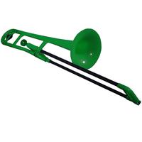 pBone Green Plastic Trombone
