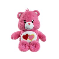Care Bears Medium With Dvd Love-a-lot Bear Plush Toy