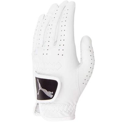 Puma Golf Glove - All Leather White AW16