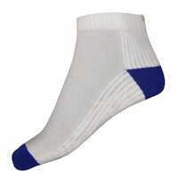 Puma Quarter Socks - Cotton Multi-Sport 2 Pack White - Blue AW16
