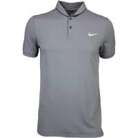Nike Golf Shirt - TR Dry ROLL Dark Grey SS16