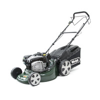 Webb 18 4 in 1 Self-Propelled Steel Deck Electric Start 4 Wheel Petrol Rotary Mower