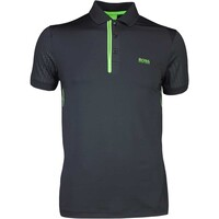 Hugo Boss Golf Shirt - Pavotech - Black PS17