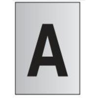 metal-effect-pvc-letter-a