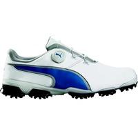 Puma Golf Shoes - TitanTour Ignite Disc - White - Blue 2017
