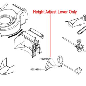 Al Ko Control Lever Height Adjust 46392430
