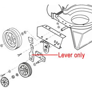 Al Ko Height Adjust Control Lever 46579130