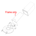 Click to view product details and reviews for Hayter R53 Grass Bag Frame 112 8750 03.