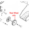 Click to view product details and reviews for Al Ko Lawnmower Rear Wheel 441256.