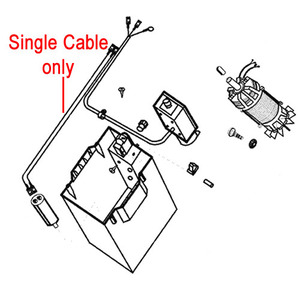 Al Ko Electrical Cable To Capacitor 506868
