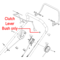 Click to view product details and reviews for Hayter Lawnmower Clutch Lever Bush 226034.
