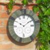 Four Season's Vintage Silverbell Clock