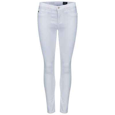 The Middi Ankle Jeans - White