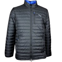 Puma Golf Jacket - PWRWARM Quilted - Black AW17