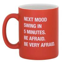 About Face Designs - Be Very Afraid Mug