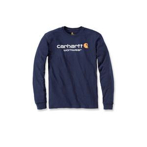 Carhartt Maddock Core Logo Long Sleeve T Shirt