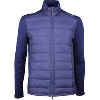 RLX Golf Jacket - Quilted Coolwool - French Navy SS18