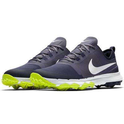 Nike Golf Shoes - FI Impact 2 - Light Carbon - Thunder Blue 2018