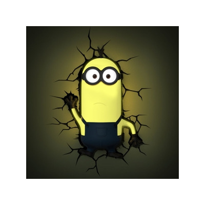 Despicable Me Minions 3D Wall Light (Kevin)