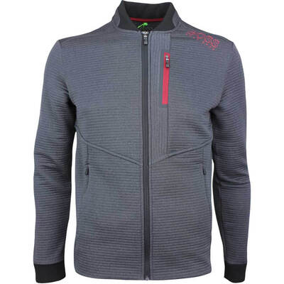 Hugo Boss Golf Jacket - Seatech - Charcoal FA18