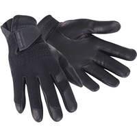 Galvin Green Golf Gloves - Lewis Leather Fleece - Black SS20