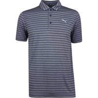 PUMA Golf Shirt - Rotation Stripe - Peacoat SS19