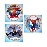 Spiderman Art Squares, Peel and Stick
