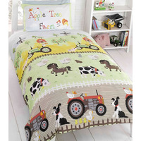 Apple Tree Farm Bedding - Single