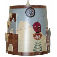 Forest Friends and Owls Light Shade
