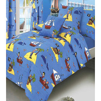 Treasure Island, Pirate Single Duvet