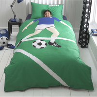 Football Star Toddler Bedding BUNDLE, Blue. 9.0 tog