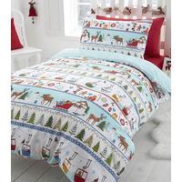 White Christmas, Festive Toddler Bedding