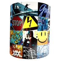 Tricks, Skateboard and Graffiti Light Shade