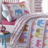 Carnival Elephants Double Duvet