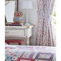 Floral Print Curtains 54s