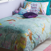 Mermaid World Single Bedding