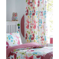 Forest Animals Curtains 72s