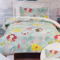 Mermaids Toddler / Junior Bedding Bundle 4.5 Tog 120 x 150
