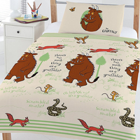 The Gruffalo, Woodland Scene Toddler Bedding