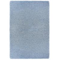 Softness, Denim Blue Shaggy Rug - 60 x 120 cm