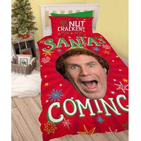 Buddy Elf Single Bedding - Santa