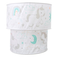 Evie Unicorn 2 Tier Light Shade