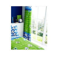 Football Pitch Curtains 72s - Blue