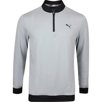 PUMA Golf Pullover - Rotation Stealth QZ - Quarry SS20