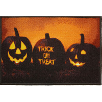 Halloween Decoration Trick or Treat Door Mat