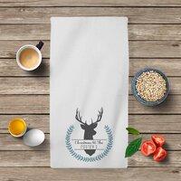 Stag Tea Towel