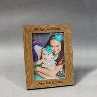 Wooden 6x4 Photo Frame