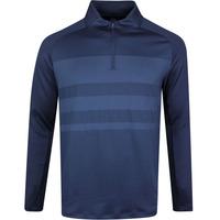 Nike Golf Pullover - NK Dry Vapor HZ - Obsidian SS20