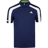 adidas Golf Shirt - Sport Heat Ready Polo - Collegiate Navy SS20