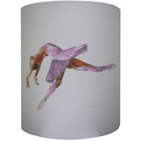 Ballerina Medium Fabric Lampshade